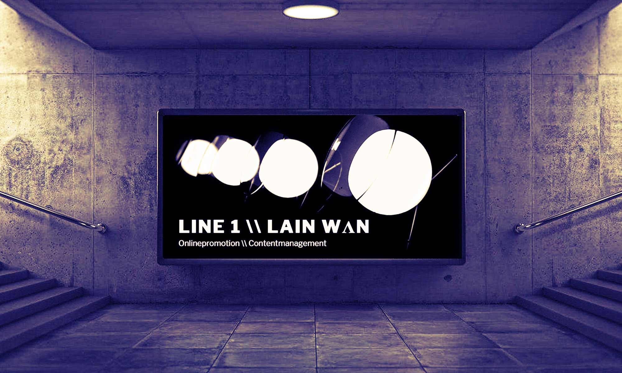 LINE 1 \\  LAIn wʌn